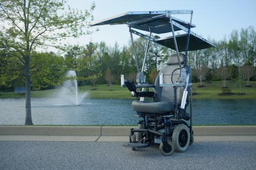Team's solar-powered wheelchair wins World Cerebral Palsy Day competition
