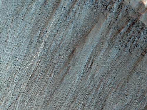 Tell-tale evidence of bouncing boulders on Mars
