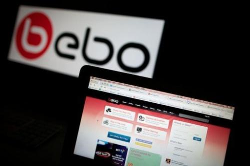 The Bebo social networking site home page photographed on a computer screen in London on July 3, 2013