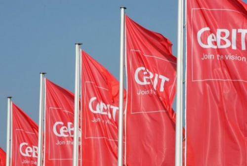 The CeBIT in Hanover, Germany is the world's top IT fair