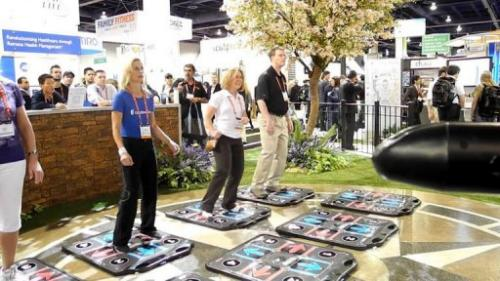 The Consumer Electronics Show, taking place in Las Vegas, is the world's biggest technology show