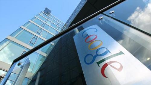 The European headquarters of Internet search engine giant Google are pictured in Dublin, Ireland, on November 19, 2010