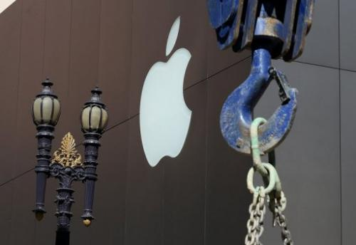 The exterior of an Apple Store on April 23, 2013 in San Francisco, California