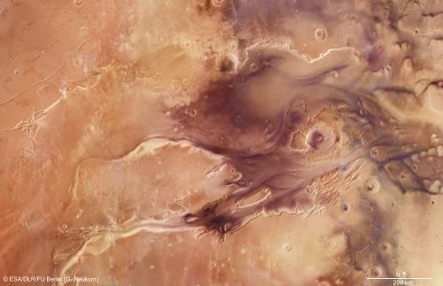 The floodwaters of Mars