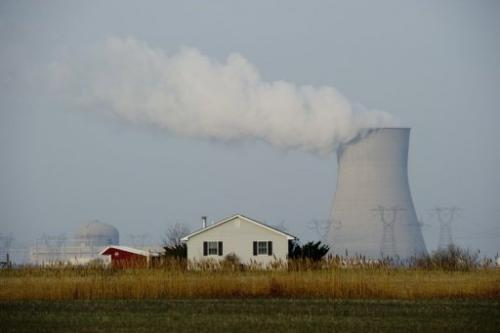 The Hope Creek nuclear power station in Lower Alloways Township, New Jersey on March 22, 2011
