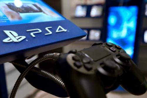 The joystick of the new Sony Playstation 4 video game console is put on display in a shop in Paris, France, November 29, 2013