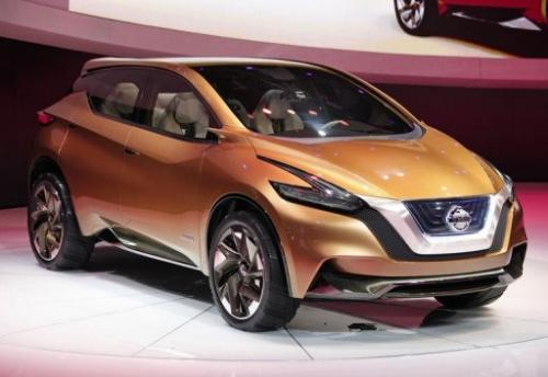 The Nissan Resonance Concept hybrid-electric at the 2013 North American International Auto Show, January 15, 2013