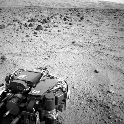Third drive of Curiosity's long trek covers 135 feet