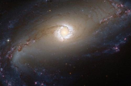 This image obtained on December 31, 2012 shows a NASA/ESA Hubble Space Telescope view