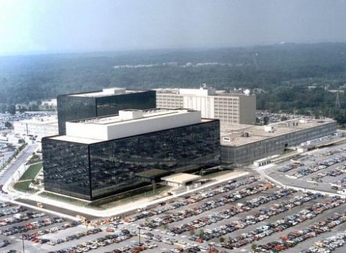 This undated handout image received on January 25, 2006 shows the National Security Agency (NSA) at Fort Meade, Maryland