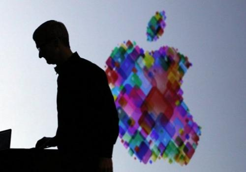 Tim Cook delivers the keynote address at the Apple 2012 World Wide Developers Conference on June 11, 2012