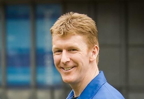 Tim Peake pictured in London on March 23, 2010