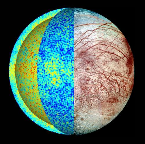 New computer model may explain moon Europa's chaotic terrain