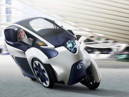 Toyota's i-Road to debut at the Geneva Motor Show