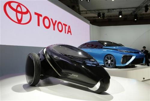 Toyota vows fuel cell model by 2015 in green push