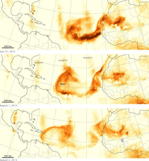 Tracking dust across the Atlantic