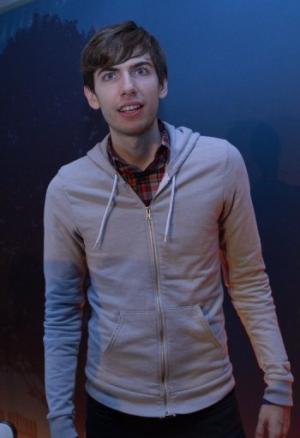 Tumblr founder David Karp at a press conference announcing the Yahoo acquisition in New York, May 20, 2013