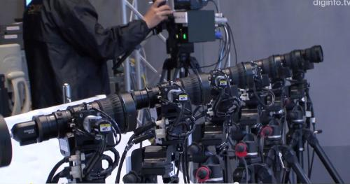 "Japan's NHK unveils multi-camera system for ""bullet-time"" slow motion replays"