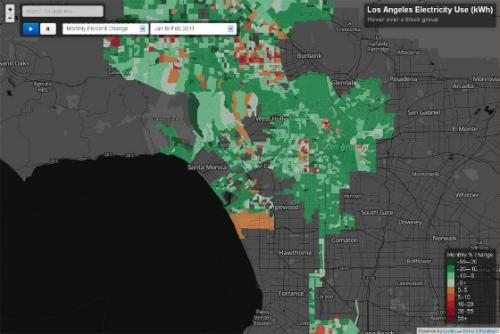 UCLA center creates first interactive electricity-use map of Los Angeles