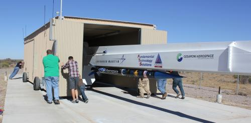 UP Aerospace' SL-8 Flies NASA Technology Experiments