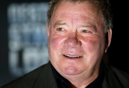 US actor William Shatner who starred as Captain Kirk in