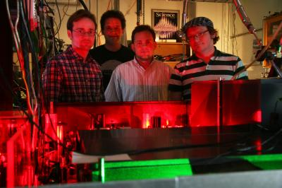Use of laser light yields versatile manipulation of a quantum bit