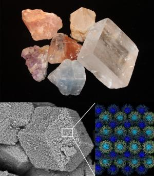 Кристаллы из наночастиц и ДНК