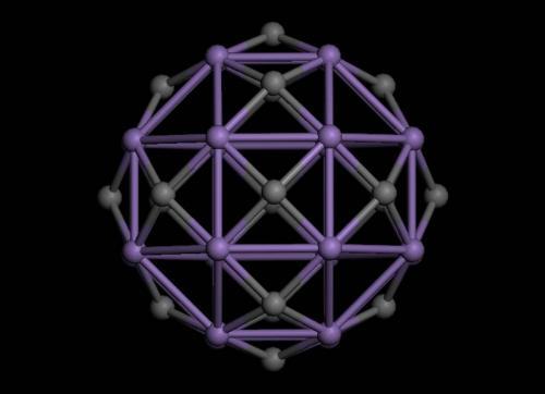 Возможно создание крупных полых магнитных молекул