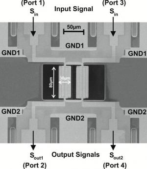 Vibrating micro plates bring order to overcrowded radio spectrum