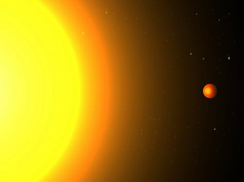 Waking up to a new year: Team discovers an exoplanet that orbits its star in 8.5 hours