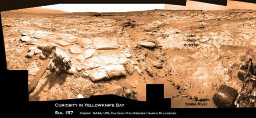 Watery science 'jackpot' discovered by Curiosity