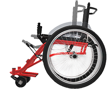 Wheelchair for developing countries designed by students