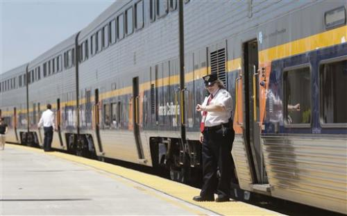Work begins on Calif. bullet train, locals angry