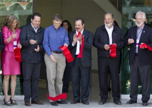 World's richest men aid 'Green Revolution' center