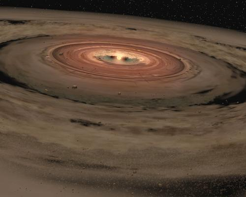 Alien Moons Could Bake Dry from Young Gas Giants' Hot Glow