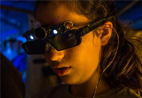 Artificial intelligence lenses for the blind created in Mexico