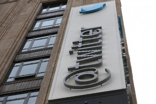 A sign is posted on the exterior of the Twitter headquarters on February 5, 2014 in San Francisco, California