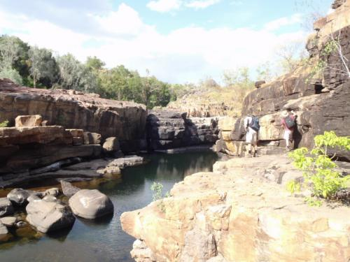 Cosmogenic field trip in the Top End