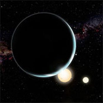 One planet, two stars: New research shows how circumbinary planets form