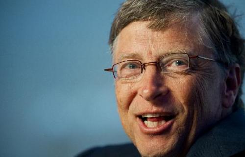 Microsoft Chairman Bill Gates delivers remarks on February 28, 2012 at the National Harbor in Maryland