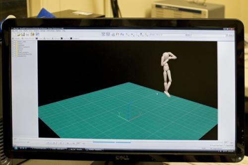 Motion-capture cameras, computer software assist skaters with jumps