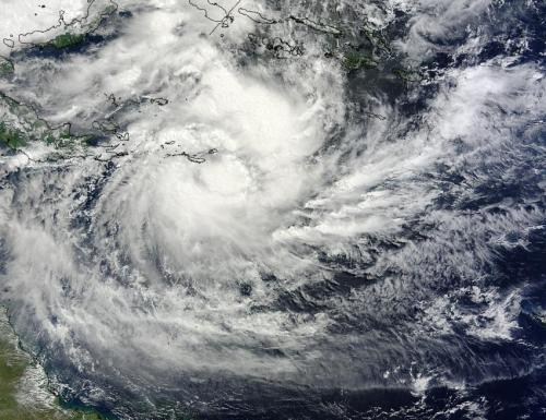 NASA catches Tropical Cyclone Ita near Papua New Guinea