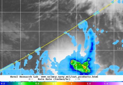 NASA sees wind shear affecting newborn Tropical Cyclone Jack