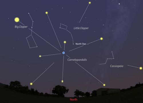 Possible meteor shower May 23-24 as Earth passes through dust trail of 209P/LINEAR