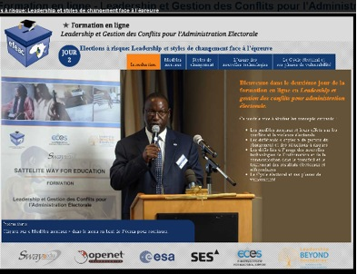 Satellites improving lives in rural Africa