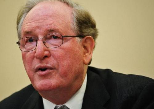 Senator Jay Rockefeller speaks during the Senate Commerce, Science and Transportation Committee hearing on Capitol Hill in Washi
