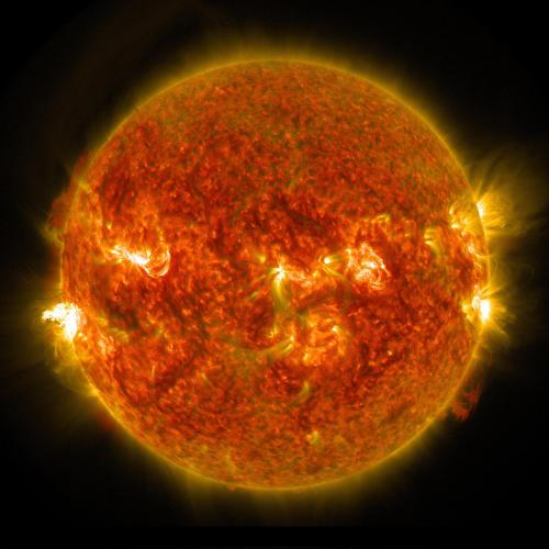 Solar Dynamics Observatory Captures Images of a Late Summer Flare