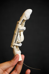 Student Researchers Developing Realistic Prosthetic Finger
