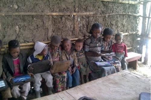 Tablet computers for global literacy