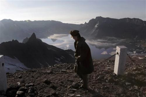 UK team unlocking secrets of North Korea volcano